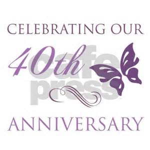 40th anniversary color 40th anniversary butterfly apron by pixelstreetann