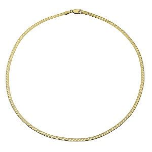herringbone pattern gold necklace 9ct gold herringbone necklace