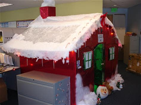cube christmas decorating ideas engine engine 9 the greatest office prank
