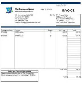 how to make invoice in excel how to make an invoice in excel