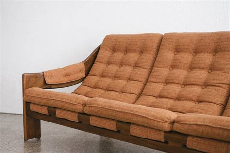sling couch mid century sling sofa homestead seattle