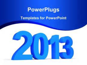 powerpoint template the new year celebrations of 2013