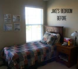 Small Bedroom Makeovers - how to hang fake shiplap paneling