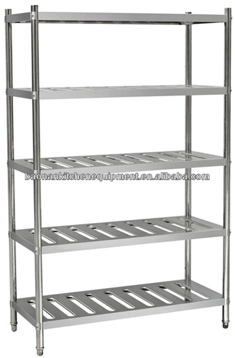 Stainless Steel Pantry Shelving by Bn R03 Stainless Steel Storage Shelf Wall Shelf For Pantry