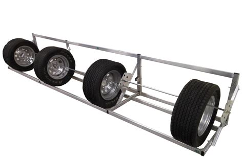Tire Rack Trailer Tires by Pit Products 12 Ft Deluxe Universal Tire Rack Free Shipping