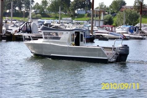 aluminium boot werft aluminium arbeitsboot coenen yacht boats gmbh
