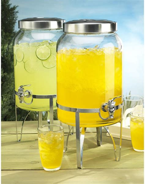 Detox Plastik by Cheer Up Your With A Glass Beverage Dispenser