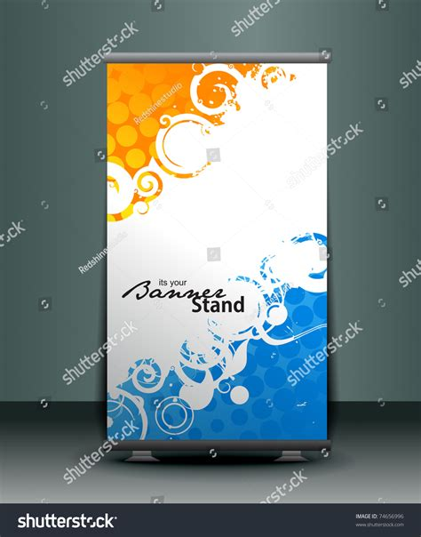 banner stand design templates image banner stand design template