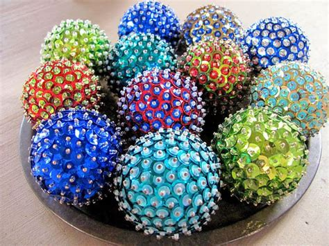 diy christmas ornaments      styrofoam ball