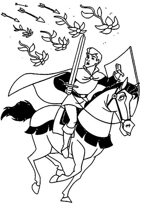samson coloring page prince phillip and samson coloring pages wecoloringpage