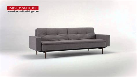 innovation futon innovations futon sofa bed cubed with arms loveseat sofa