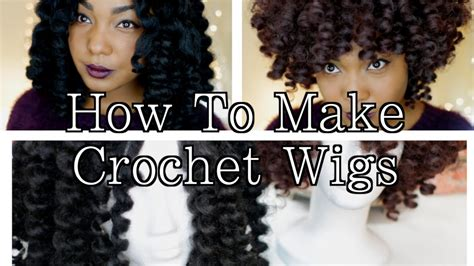 How To Make Crochet Wigs: Natural Hair Protective Style