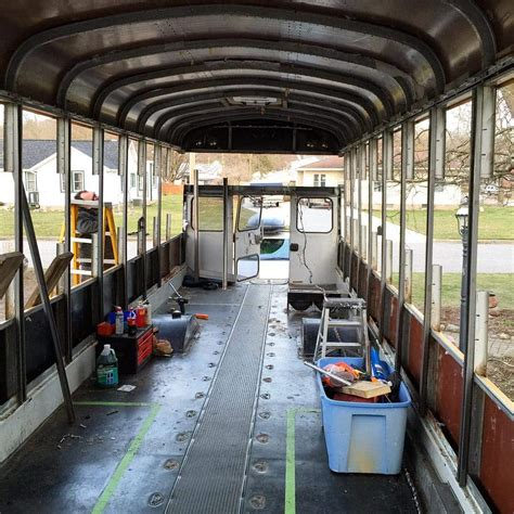 tiny house bus 10 tiny house builds to follow on instagram