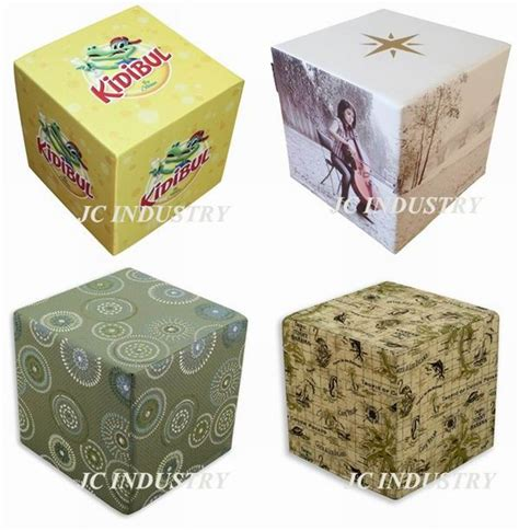 Foam Ottoman Cube Logo Printing Pu Polyester Seat Ottoman Foam Cube Buy Foam Cube Ottoman Cube Seat Cube Product