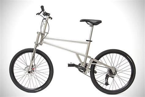 Handmade Titanium Bicycles - helix the world s smallest and lightest folding bicycle