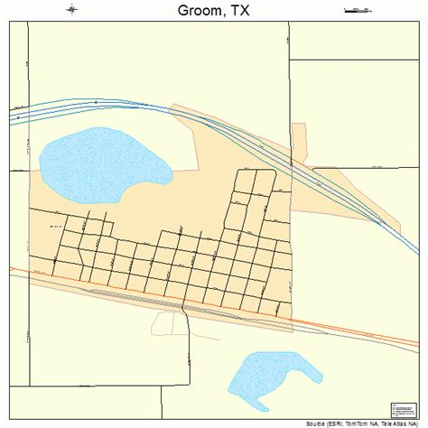 groom texas map groom texas map 4831292