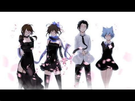 youtube anime fight music yozakura quartet hana no uta afmv anime fight music