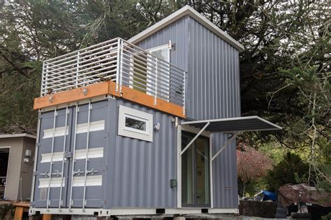 tiny home 2 story two story shipping container tiny house for sale