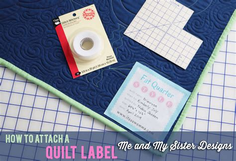 How To Label A Quilt by Quarter Shop S Jolly Jabber How To Attach A Quilt