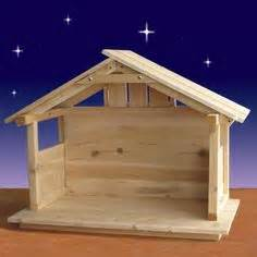 Outdoor nativity stable