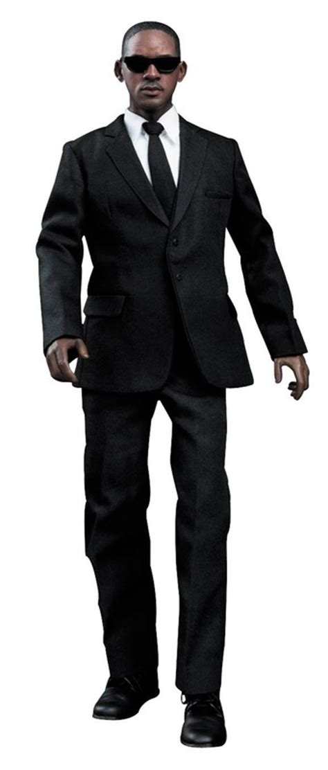 Black Suit Figure will smith as j in black iii prop replicas and collectible items