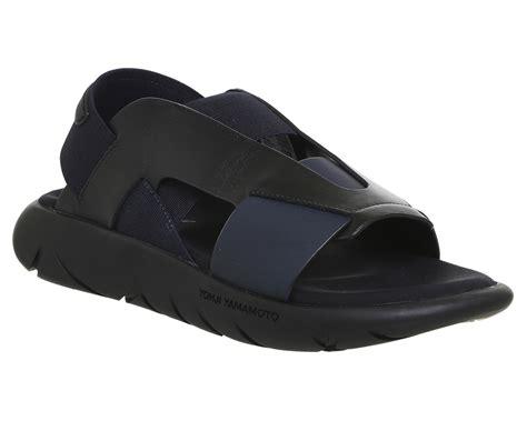 adidas y3 sandal adidas y3 y 3 qasa elle sandals black iris black hers