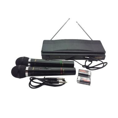 Microphone Wireless Homic Hm 306 asia jaya blibli