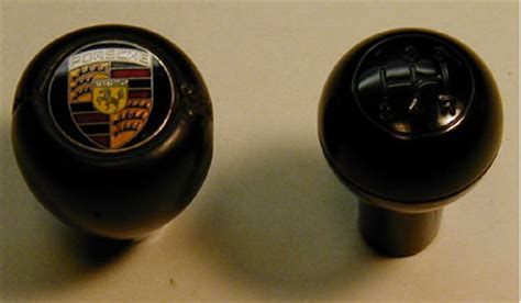 Porsche Shift Knobs by Shift Knobs Leather With Porsche Crest And 915 Knob