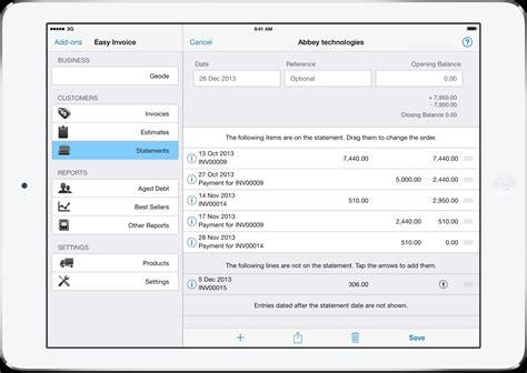 best iphone invoice app invoice template ideas