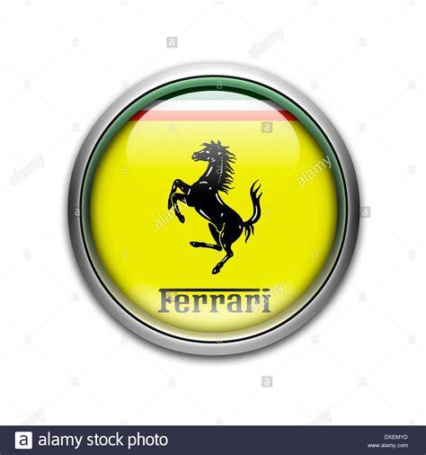 Ferrari Symbol by Ferrari Logo Flag Symbol Icon Emblem Stock Photo Royalty