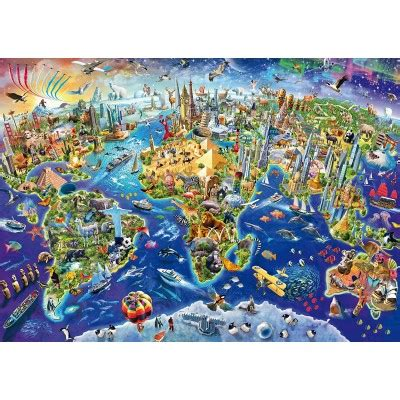 Jigsaw Puzzle Perre Butterfly World Map 1000 Pieces puzzle discover our world schmidt spiele 58288 1000 pieces