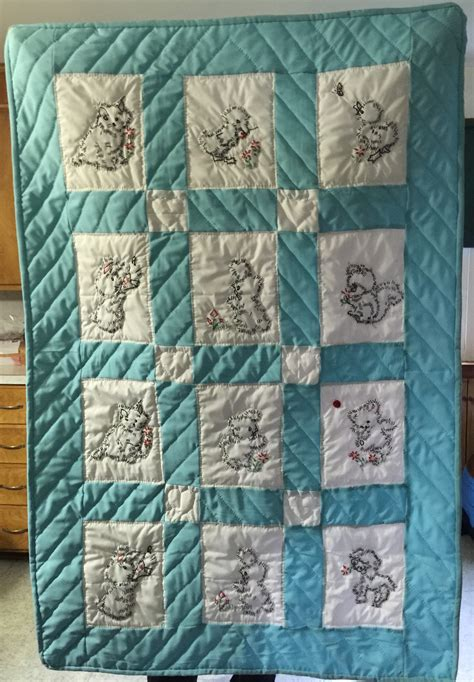 amish handmade quilts for baby and quillows pillows