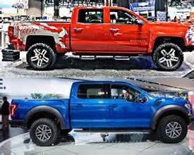 chevrolet reaper vs ford f 150 raptor truck 2017 2018