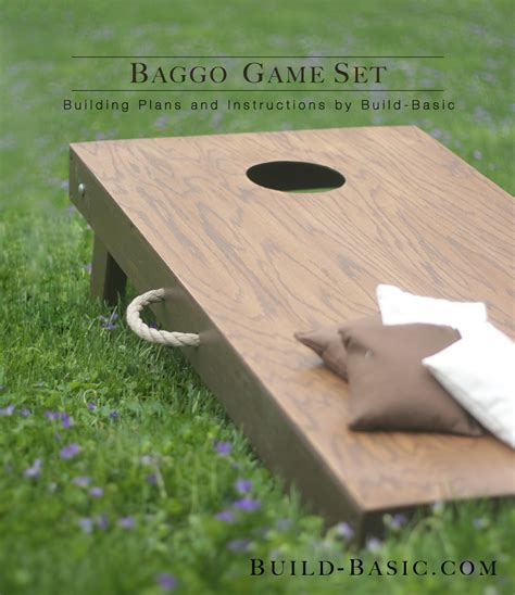 build  baggo game set build basic
