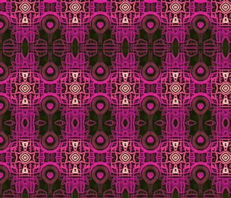 Batik Saidah Magenta Original batik magenta fabric stephaniecolecreations spoonflower