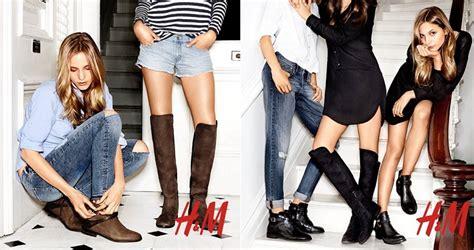 imagenes botas otoño invierno 2015 calzado h m oto 241 o invierno 2014 2015