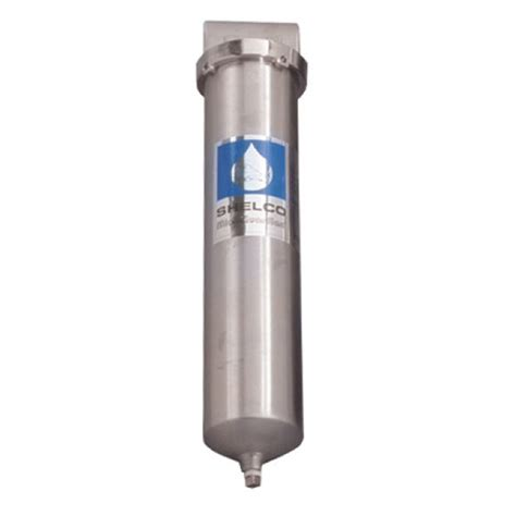 Housing Filter 20 Nanotec Inlet Outlet 34 shelco rhs 806a 20 quot 316 stainless steel filter housing 3