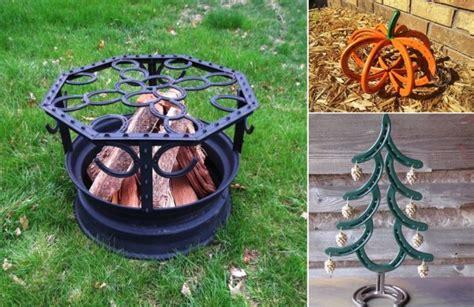 pit topper diy horseshoe craft project ideas home design garden