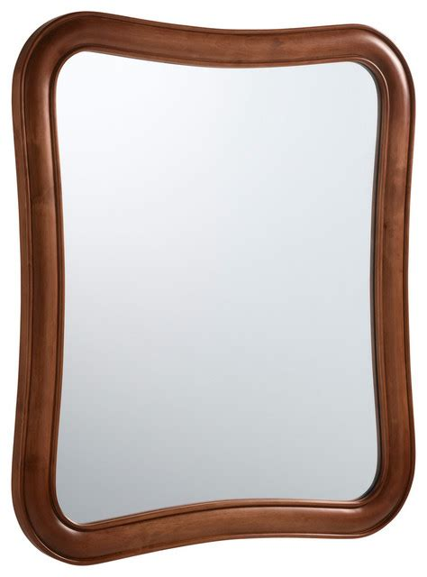 cherry wood bathroom mirror ronbow vintage fancy solid wood framed bathroom mirror
