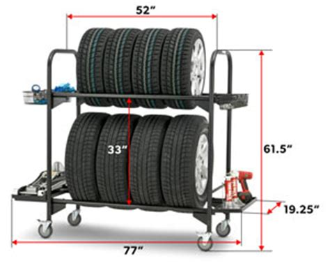 Mobile Tire Rack by Kinlife Mobile Tire Display Rack Buy Tire Rack Tire
