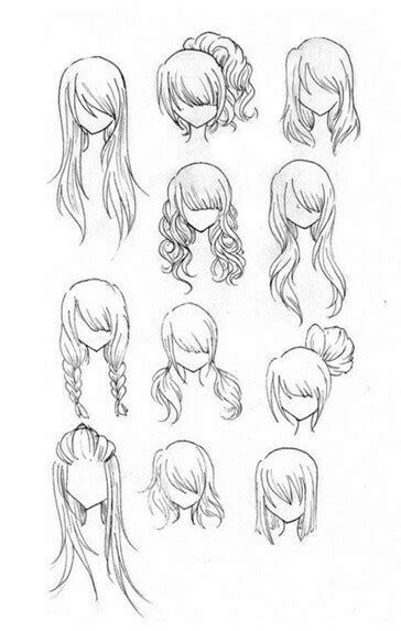 cute hairstyles anime hairstyles girl woman how to draw manga anime