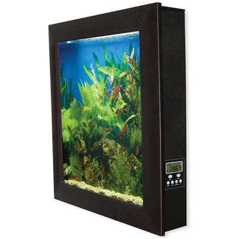 wall aquarium aquavista wall mounted aquarium the green head