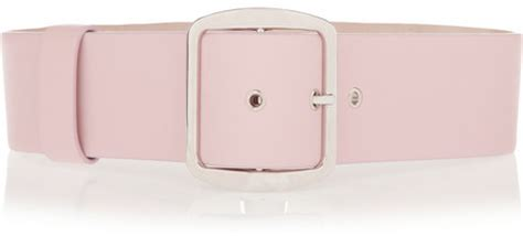 givenchy wide waist belt in light pink leather where to