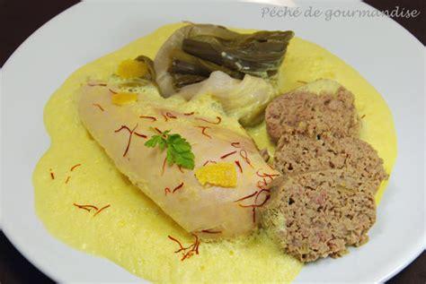 poule au pot sauce safran 233 e p 233 ch 233 de gourmandise
