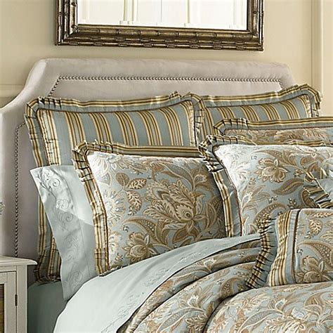 bed bath and beyond valdosta ga j queen new york valdosta aqua european sham bed bath