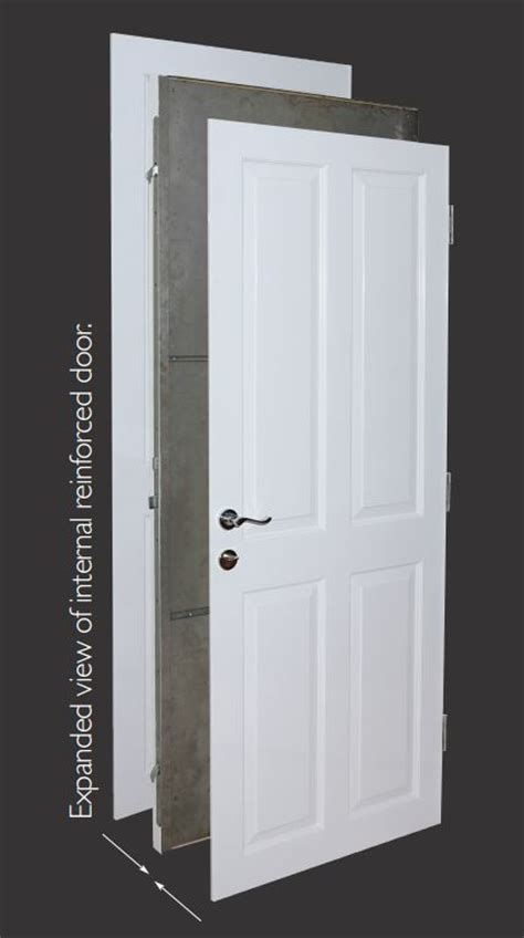 Security Interior Doors Safe Room Reinforced Doors By Henleys Security Doors
