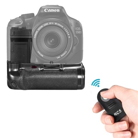 Lcd Canon 600d powerful pro lcd timer vertical battery grip for canon eos 550d 600d slr cameras ebay