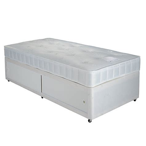bed with mattress set buy lewis the basics collection comfort slide store