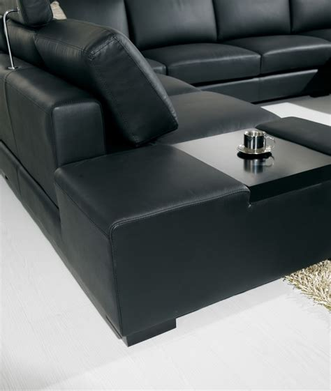 U Shaped Leather Sectional Sofa T 35 Large U Shaped Modern Leather Sectional Sofa With Lights
