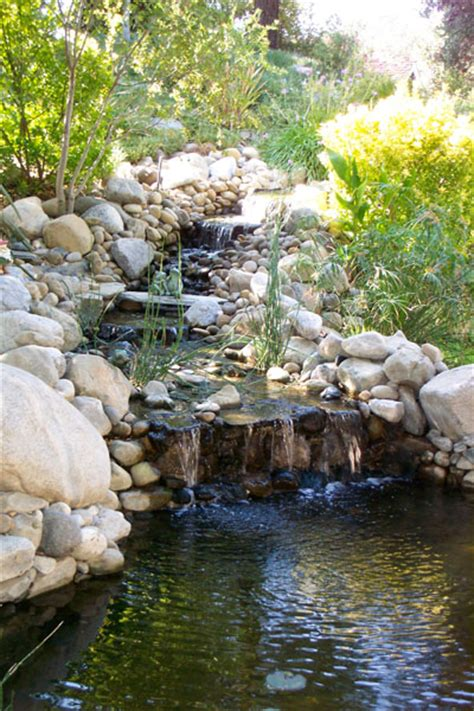 Sunland Water Gardens by Pond Display Rock Pond Sunland Water Gardens